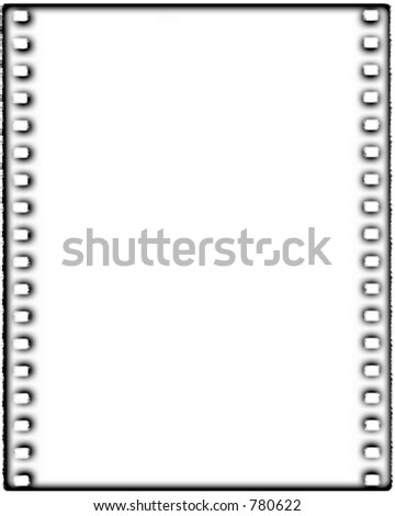 Contemporary filmstrip frame