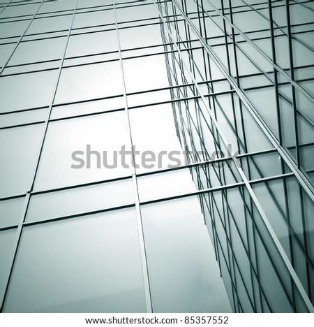 contemporary windows - stock photo