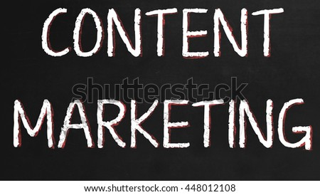 content Marketing - Business Marketing concept