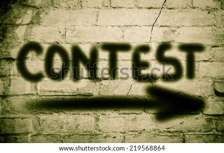Contest Concept - stock photo