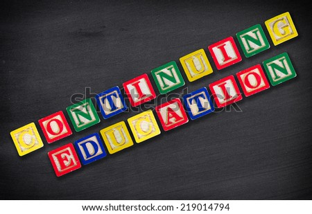Continuing Education - stock photo