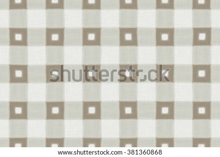 Continuous thin flaxen fabric pattern - stock photo