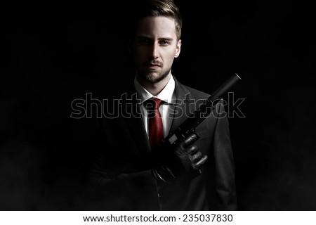 Contract Killer - stock photo