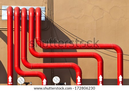 Fire Fighting System Stock Images Royalty Free Images