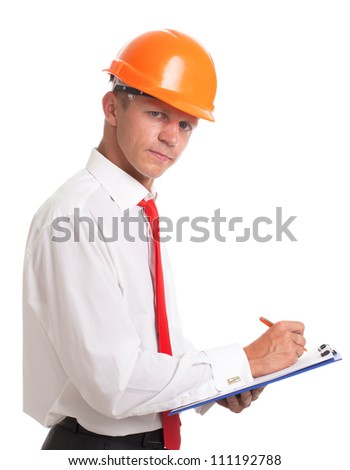 Controller checking list - stock photo