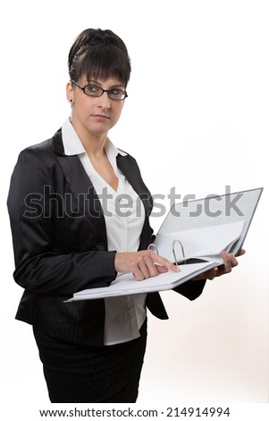 controller woman control a list in a file