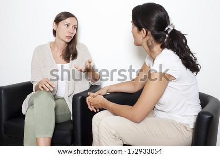 Conversation - stock photo