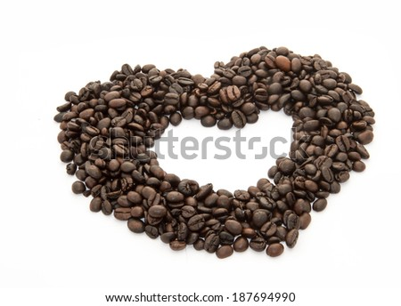cooffee bean - stock photo
