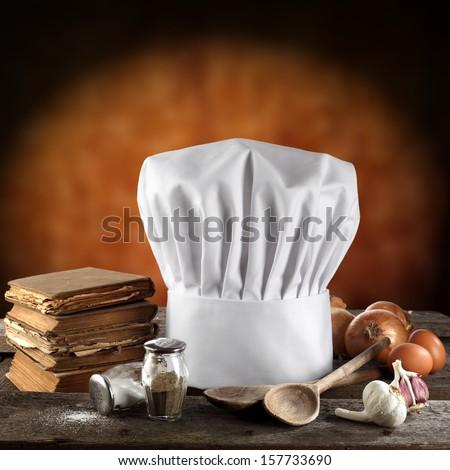 cook hat  - stock photo