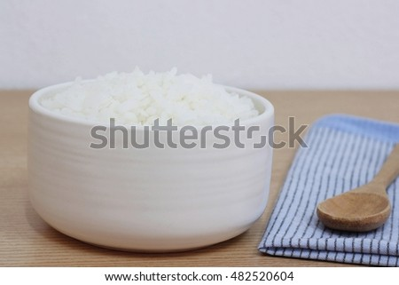 cooked rice or jasmine rice