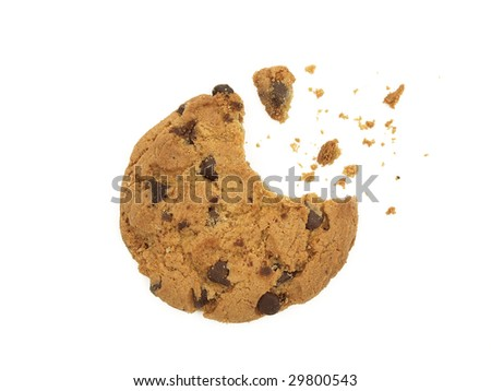 cookie explosion - stock photo