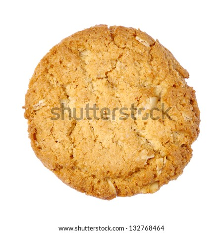 Cookies on a white background. - stock photo