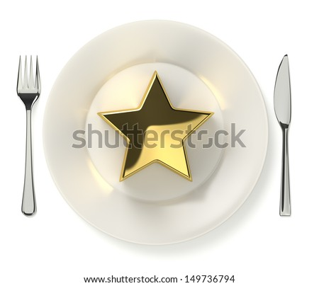 Cooking award - stock photo