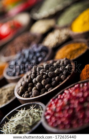 Cooking ingredient,spice  - stock photo