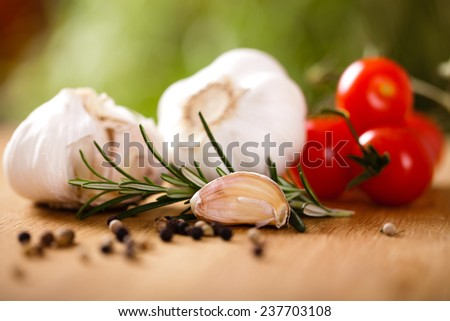 cooking ingredients - stock photo