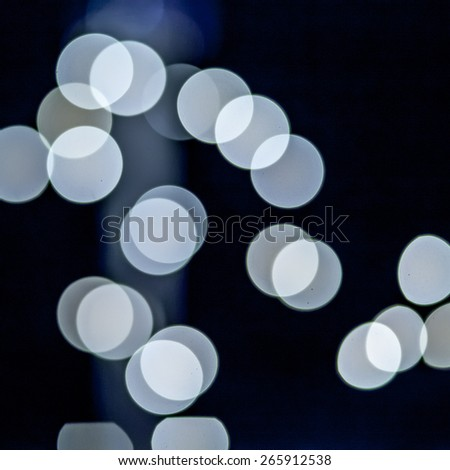 Cool blue abstract background blurs - stock photo
