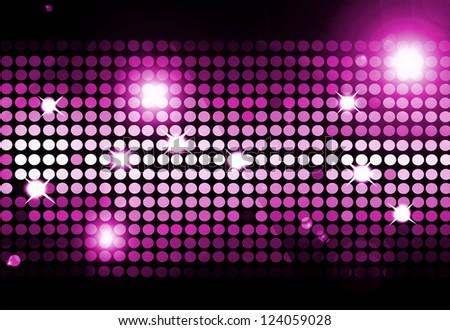 Cool disco background - stock photo