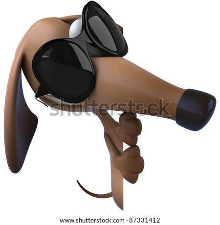 Cool dog - stock photo