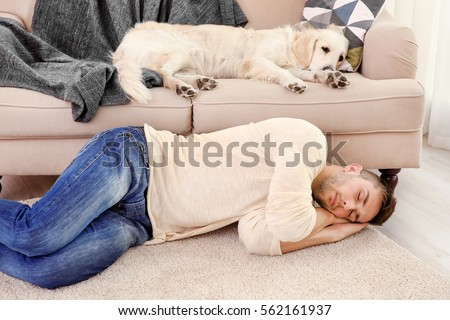 Funny Sleeping Man Stock Images, Royalty-Free Images ...