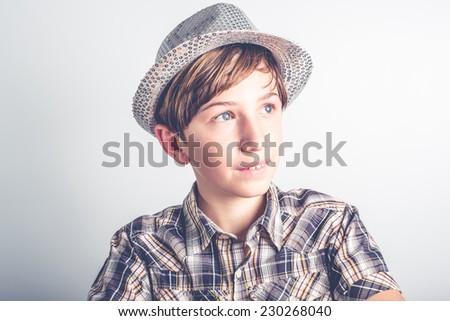 cool kid - stock photo