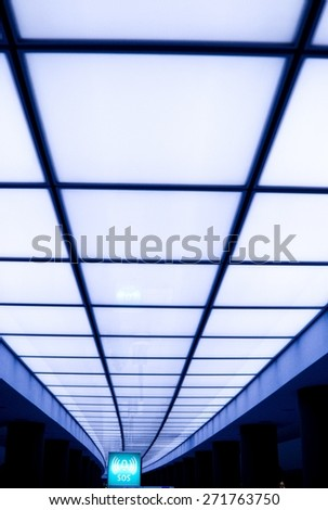 cool light - stock photo
