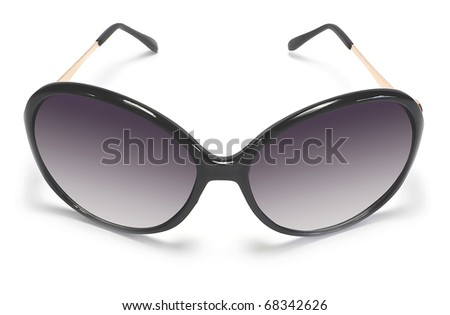 cool sunglasses isolated on white