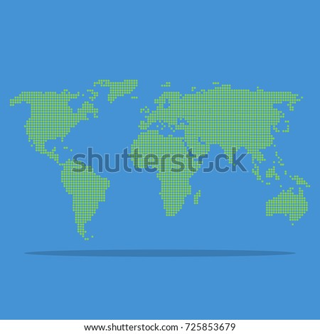 Cool world map background stock illustration 725853679 shutterstock cool world map background gumiabroncs Image collections