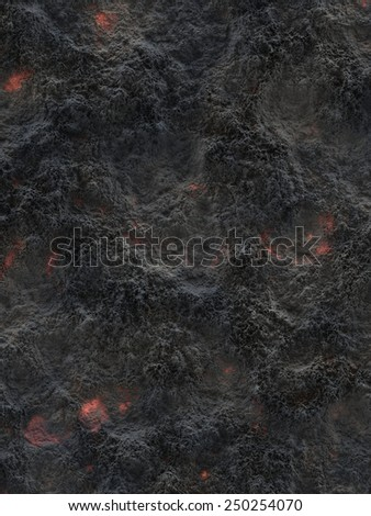 Cooling Lava Texture *created digitally, no source image used