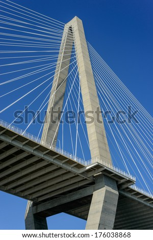 Cooper River Bridge Shooting up in Charleston SC Harbor