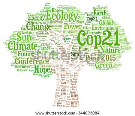 COP21 in Paris 2015 - stock photo