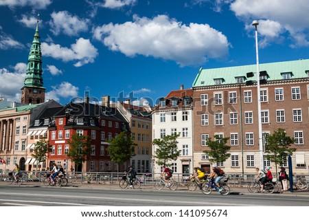 Copenhagen, Denmark. - stock photo