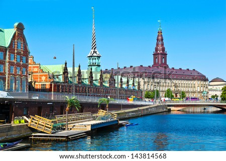 Copenhagen, Denmark - stock photo