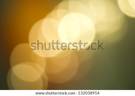 Copper and verdigris colored abstract background with bokeh - stock photo