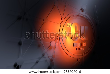 Copper chemical element sign atomic number stock illustration copper chemical element sign with atomic number and atomic weight chemical element of periodic urtaz Image collections