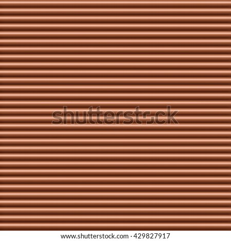 Copper horizontal tubing background texture