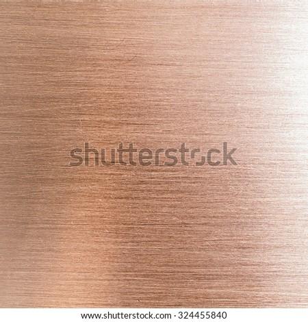 Copper texture background - stock photo