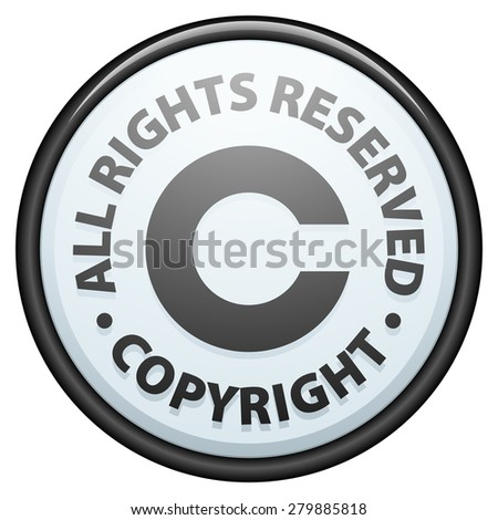 Copyright All rights reserved - stock photo