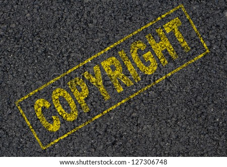 copyright background
