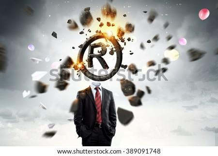 Copyrighting concept - stock photo