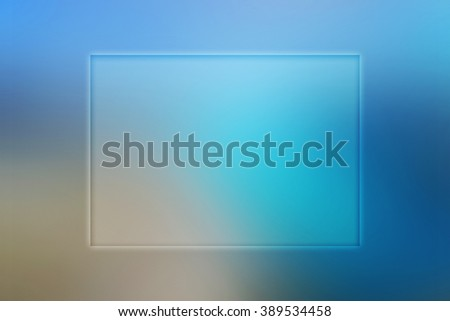 Copyspace Blue Background - stock photo