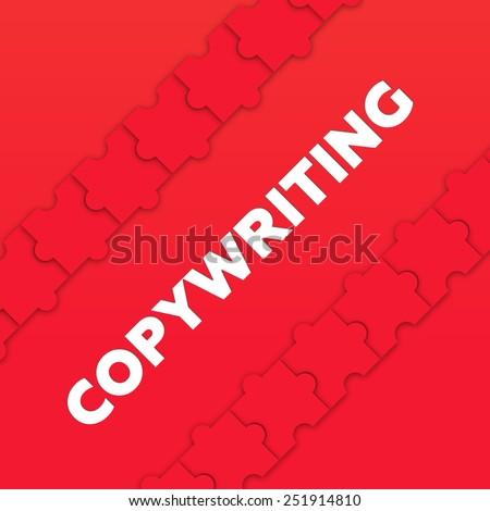 COPYWRITING - stock photo