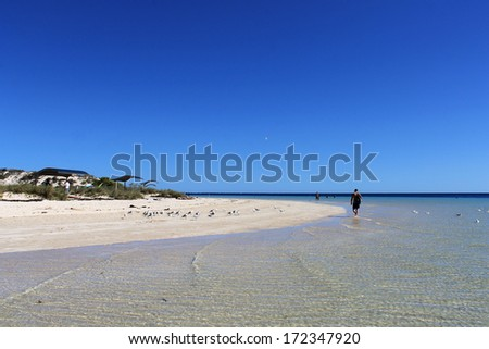 Coral Bay - Western Australia - stock photo