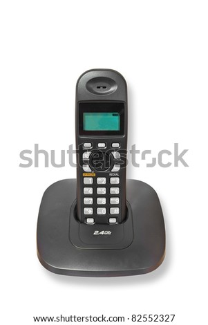 Cordless telephone 2.4GHz isolated