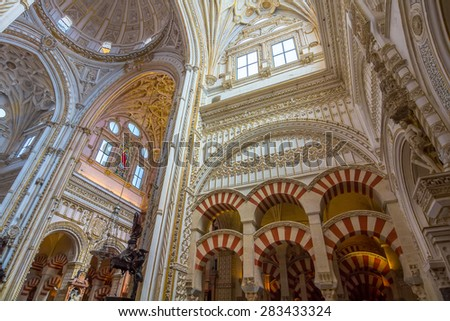 CORDOBA, SPAIN September 5, 2014: 