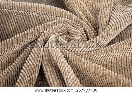 Corduroy abstract background - stock photo