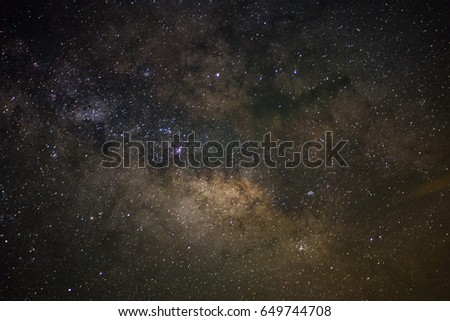 Core of the Milky Way