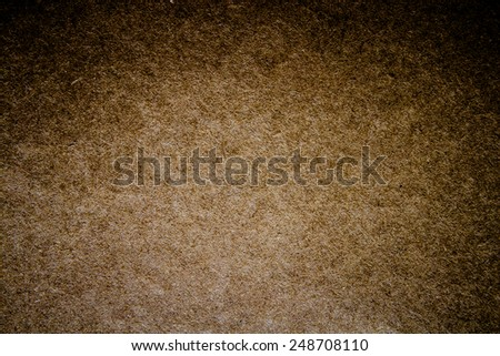 Cork-board background writing that post.