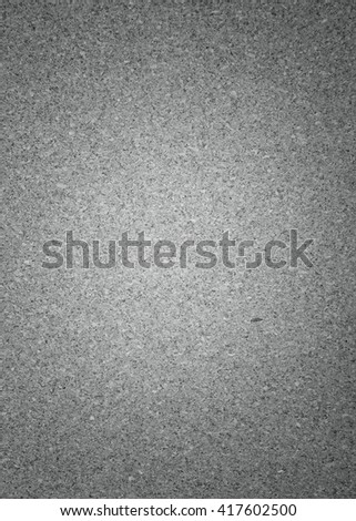 Cork board texture background - black and white. - stock photo