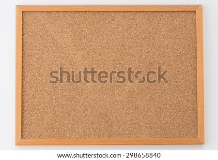 cork board texture for background