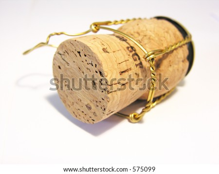 Cork isolated